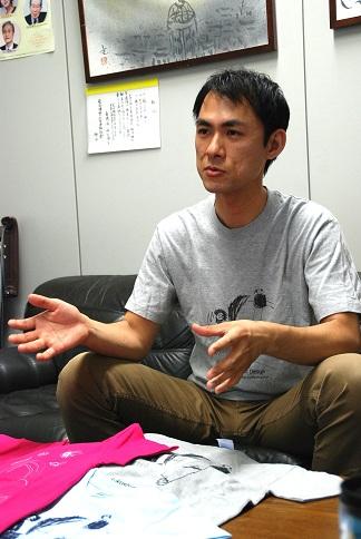 原水禁にてインタビュー2